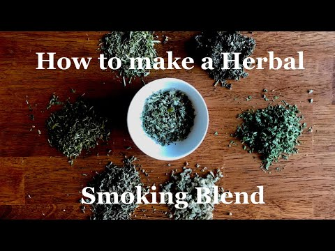 How to make a herbal smoking blend (i used it to quit smoking!)