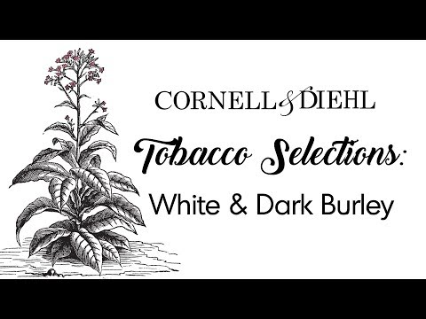 Tobacco selections: white and dark burley