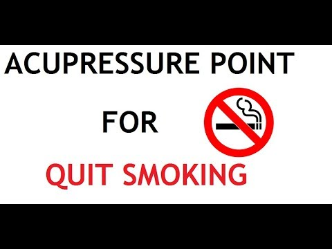 5 acupressure point for quit smoking
