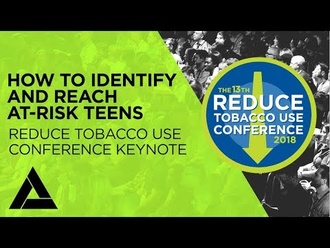 How to identify and reach at-risk teens - jeff jordan and danny saggese - reduce tobacco use keynote
