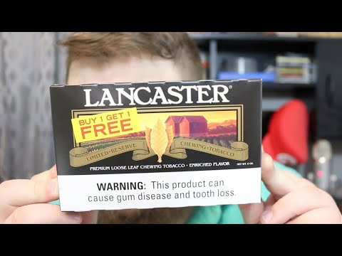 Lancaster chewing tobacco ~ a review!