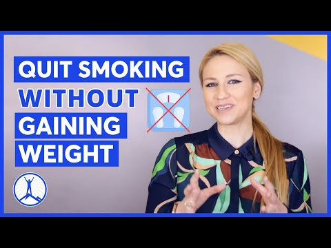 How to quit smoking without gaining weight | nasia davos