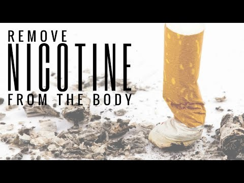 How to remove nicotine from the body