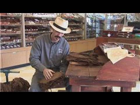 How cigars are made : types of cigar tobacco