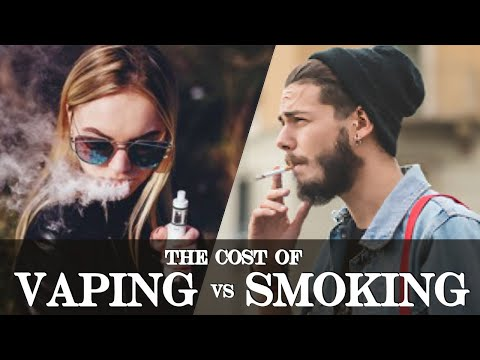 Cost of smoking vs. vaping - is vaping cheaper than buying cigarettes?