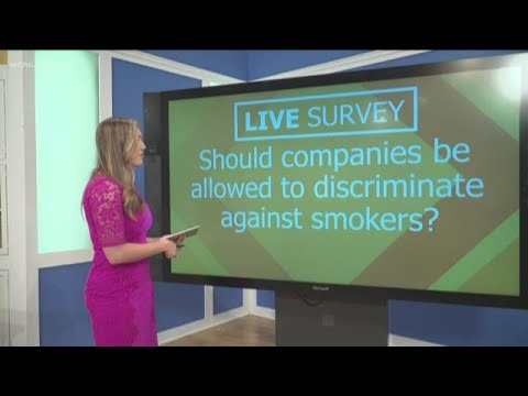 Should companies be allowed to discriminate against smokers?