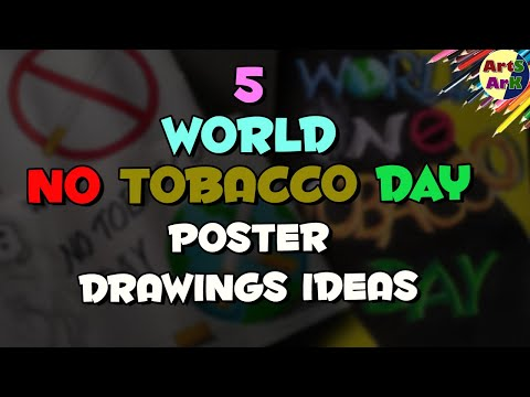 World no tobacco day easy poster drawing | 31st may world no tobacco day