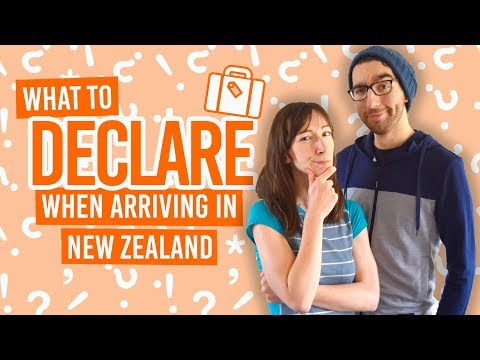 What do you need to declare when arriving in new zealand?