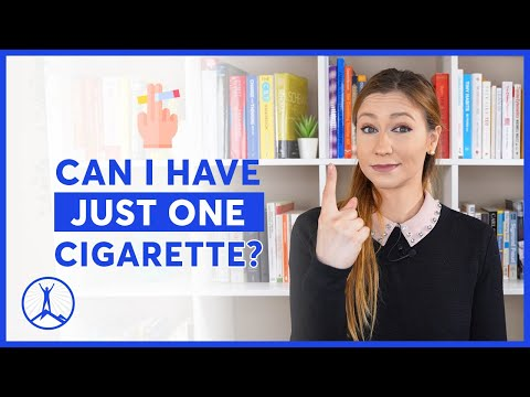 Can i smoke just one cigarette after quitting?