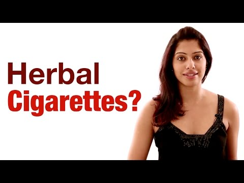 Are herbal cigarettes safe to smoke?