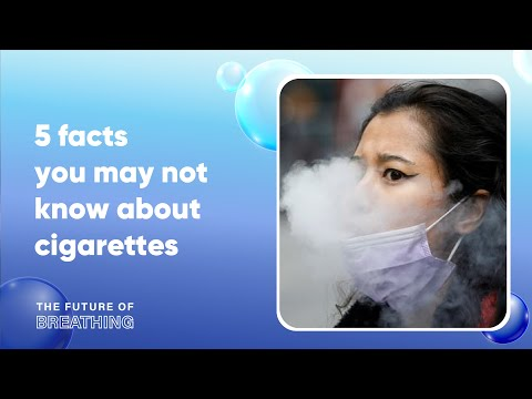 5 facts you may not know about cigarettes | the future of breathing