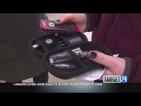 Target 8 undercover: kids buy e-cigs