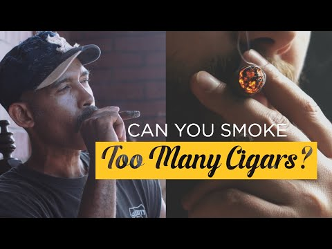 How many cigars can you smoke in a day