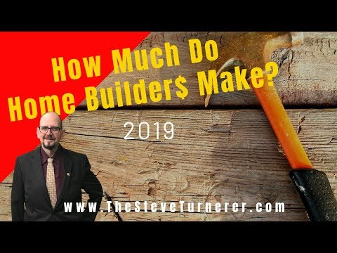 Builders profit margins continue to increase in 2019 - how much do builders make?