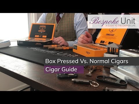Box pressed vs normal cigars: comparison of flavours & smoking experience